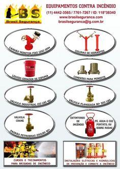 Compras de extintores para incêndio