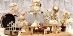 "Shabby Chic ""Fashionista"" Bridal Shower Theme - Dessert Table"