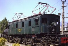 Chile, Rail Car, Electric Train, Electric Locomotive, Trains, Transformers, Around The Worlds, American, Parking Lot