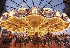 Jane's Carousel- Brooklyn Bridge Park in DUMBO, Brooklyn NY