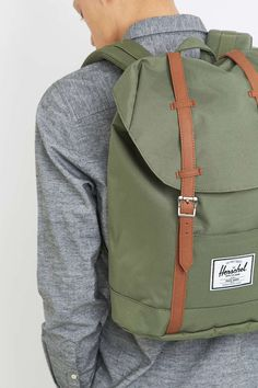 f0494840163 Herschel Supply co. Retreat Sage Backpack