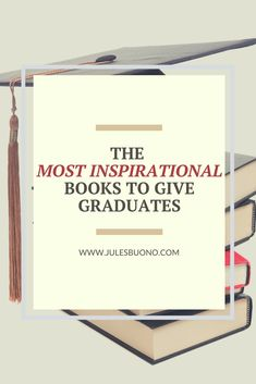 "It's that time of year when new graduates are abundant (albeit socially distant in 2020), and for all of who have ""been there"" before, we know that learning doesn't end when you have a diploma in hand.  So, these are the best books for graduates -- high school or college -- which I have personally read and would recommend for you to gift to others. Included are Brene Brown and Oprah Winfrey, as well as Lean in, The Moment of Lift and more.  Click to read the list."