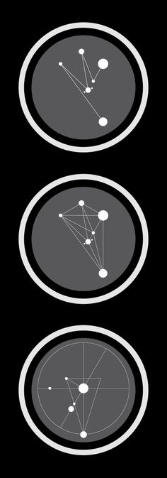Interesting way to use network as a symbol. The Ice and Fire Solar System by Markos Zouridakis, via Behance