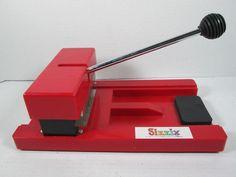 Sizzix Scrapbooking Machine Original Red Sizzix Die-Cutter #Sizzix