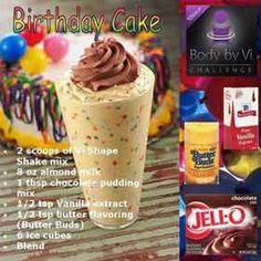 birthday cake body by vi shake recipe