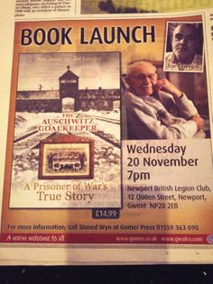 The Auschwitz Goalkeeper. A prisoner of War's. True Story