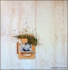 jbs inspiration: August Kits plus wood plus sequins :) :) :)