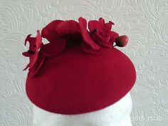 #Vintage #sophie #hunter pill box hat red ,  View more on the LINK: http://www.zeppy.io/product/gb/2/131784172545/