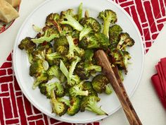 Roasted Broccoli with Garlic Recipe | Food Network Kitchen | Food Network