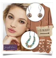 """""""SHOP - Purple Lotus Jewelry"""" by ladymargaret ❤ liked on Polyvore featuring Silvana, United by Blue, Billabong and Straw Studios"""