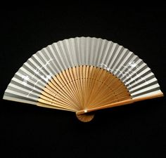 Japanese Hand Fan Cute Rabbits Vintage Paper by VintageFromJapan, $9.50