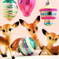 Holiday Deer Kitsch