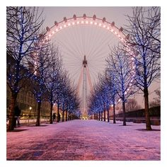 Wanderlust / London Eye Been there! ❤ liked on Polyvore