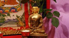Buddha statute in a nice composition