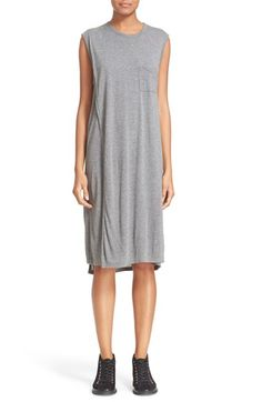 T BY ALEXANDER WANG Overlap T-Shirt Dress. #tbyalexanderwang #cloth #