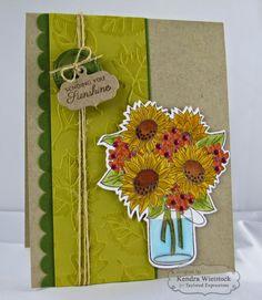 Kendra's Card Company: Taylored Expressions Sneak Peeks Day #2: Sunflower Bouquet & Hug A Mug!