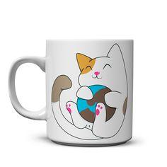 Taza eres mi Mundo Mug Shots, Mug Designs, Boyshorts, Tableware, Amazing, Cat, Mugs, Vases, Block Prints