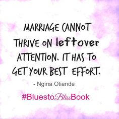 Are you giving your marriage your BEST attention?