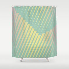Customize your bathroom decor with unique shower curtains designed by artists around the world. Made from 100% polyester our designer shower curtains are printed in the USA and feature a 12 button-hole top for simple hanging. The easy care material allows for machine wash and dry maintenance. Curtain rod, shower curtain liner and hooks not included. Dimensions are 71in. by 74in