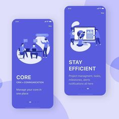 Onboarding screens of Business controlling application by Ux Design, Web Design Basics, Creative Web Design, Web Design Company, Graphic Design, Mobile App Design, Best Mobile Phone, Mobile App Ui, Web Design Quotes