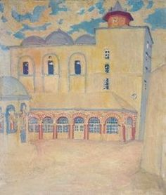 Monastery Of Iviron, Mount Athos - (Spyros Papaloukas) New Art, Greek, Words, Artwork, Painting, Art Paintings, Work Of Art, Auguste Rodin Artwork, Greek Language