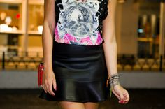 erica-camargo-look-do-dia-fashion-rio-forever-21-tee-gatinho-@ David Arrais - Fotografia