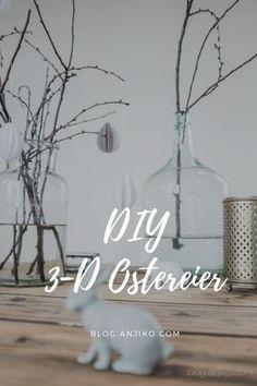 Basteltipp für schnelle 3D- Ostereier aus Papier. DIY für Ostern auf http://blog.anjiko.com/diy/diy-osterdeko-ostereier-aus-papier/ Basteltipp, Easter, eastereggs, eggs, Eier, einfach, schnell, blog, Blogger, basteln, Oster, Bastelei, Osterdeko, Deko, minimalistisch, minimalism, monochrom, monochrome, Last Minute, günstig, lowbudget, low budget