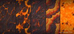Lava textures - Bitgem, Antonio Neves on ArtStation at https://www.artstation.com/artwork/Wg4rQ?utm_campaign=notify&utm_medium=email&utm_source=notifications_mailer