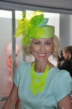 Hats Have It: If you love looking at hats, you will LOVE RACING FASHION TV. WATCH IT HERE!