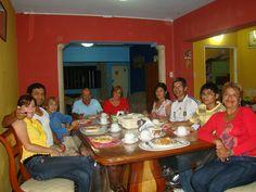 Visita de Marco (hermano) a Chimbote, tia Hilda, Rosa y primos.