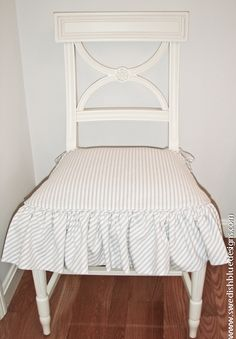 Swedish Gustav Chair with Slipcover