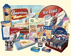 American Diner line
