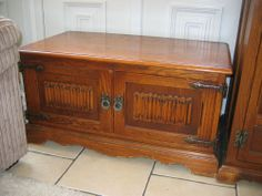 Old Charm Wood Brothers TV Stand