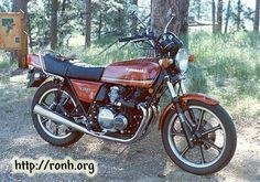 1981 Kawasaki KZ550