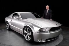 Iacocca Silver 45th Anniversary Edition Ford Mustang...LoVe!