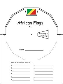 This page shows colored flags and has an option to print outlined ones. Many other pages as well.