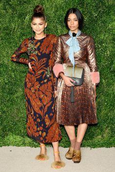 Actrice Zendaya en Aurora James