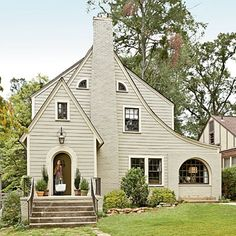 After: Warmed Up Exterior - Our Best Before and After Home Renovations - Southern Living