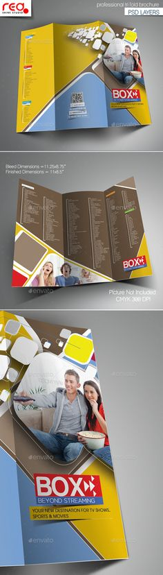 brochure maker free printable