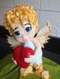 Goldjunge-Engel