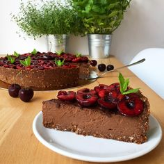 Healthy Cake, Healthy Sweets, Healthy Cooking, Healthy Lunches, Sweet Recipes, Cake Recipes, Vegan Recipes, Eat Happy, Kinds Of Desserts