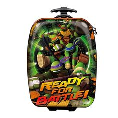 "Teenage Mutant Ninja Turtles Ready for Battle 16.1"" Suitcase"