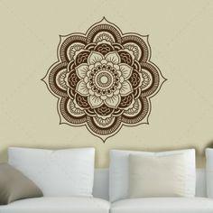 Mandala -vinil autocolante decorativo de parede