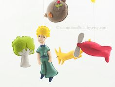 Story MobileThe Little Prince No.2 por AContinualLullaby en Etsy