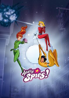 Totally Spies Season 6 :OOO I'm a fan of Totally Spies :) Yessss!!! Sam, Clover, and Alex are back :DD This makes soo me happy. One of my fav shows of all time! <3