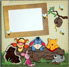 Winnie the Pooh & Gang Page - Just Duckie Designs
