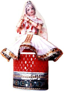 Beautifully crafted Manipuri Dancing Dolls, India
