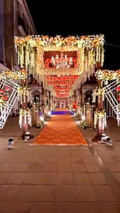 Wedding Tent Decorations, Wedding Stage Backdrop, Wedding Backdrop Design, Wedding Stage Design, Wedding Entrance, Reception Stage Decor, Entrance Decor, Backdrop Decorations, Destination Wedding Decor