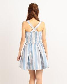 LIZ LISA Multi Stripe Dress 2