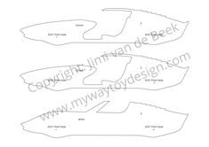 Scroll saw plans / blueprints wooden toy car model Lamborghini Miura 1:18 available on my website.